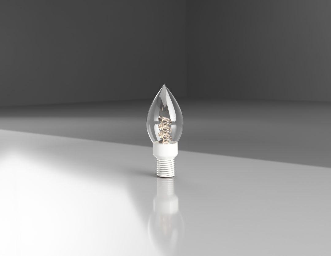 Light Bulb Experiment – Glass Render